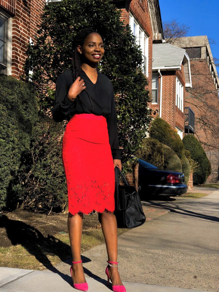 COLOR COMBINATIONS: How to Style Red and Pink Outfit | Love Igho