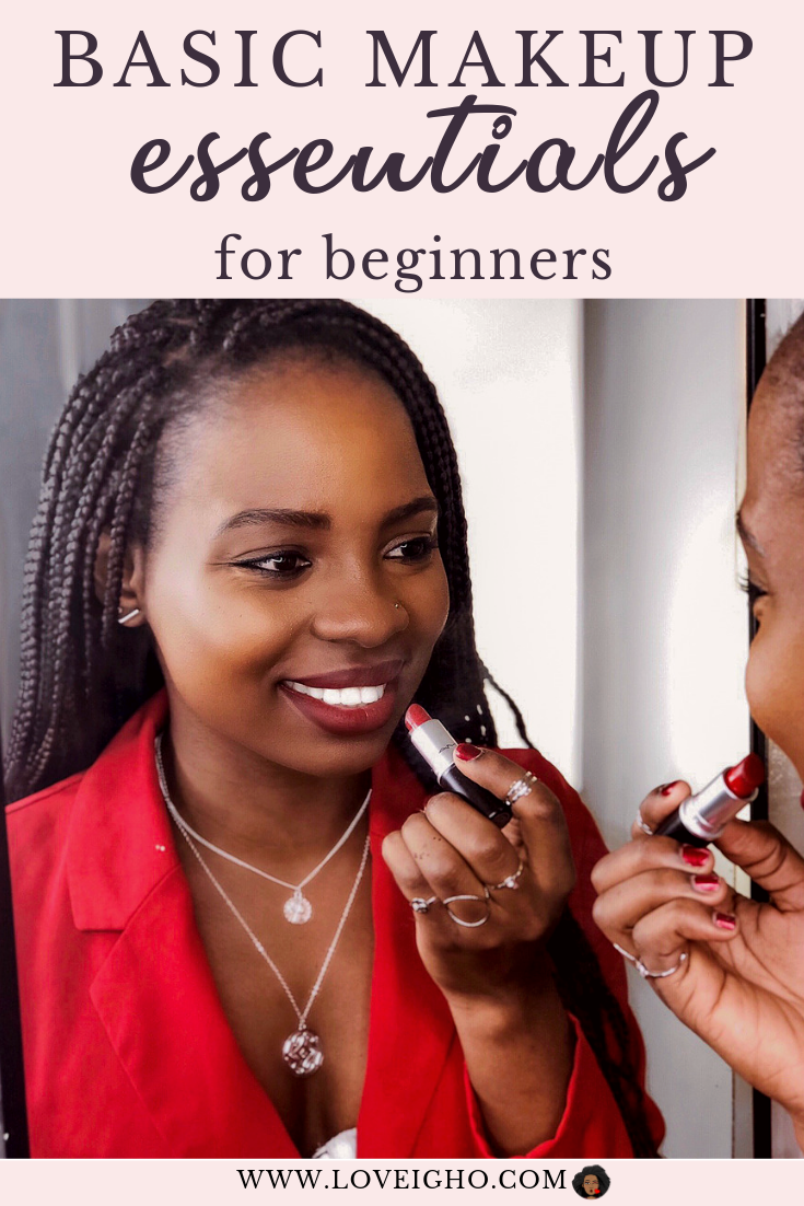 Basic Makeup Essentials For Beginners | Love Igho