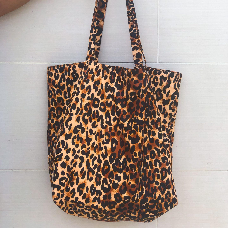 DIY Leopard Tote Bag | Love Igho