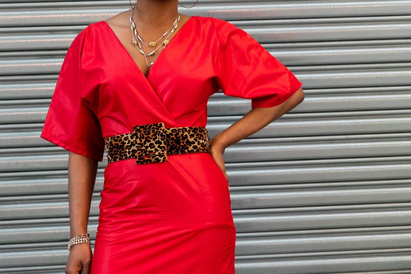 DIY Red Kimono Style Dress | Love Igho