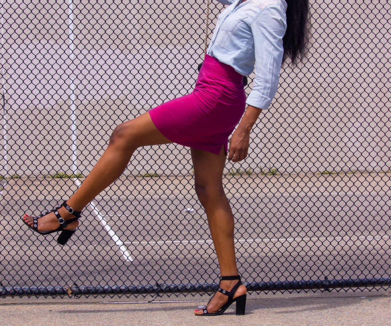 DIY A-Line Skirt | Love Igho