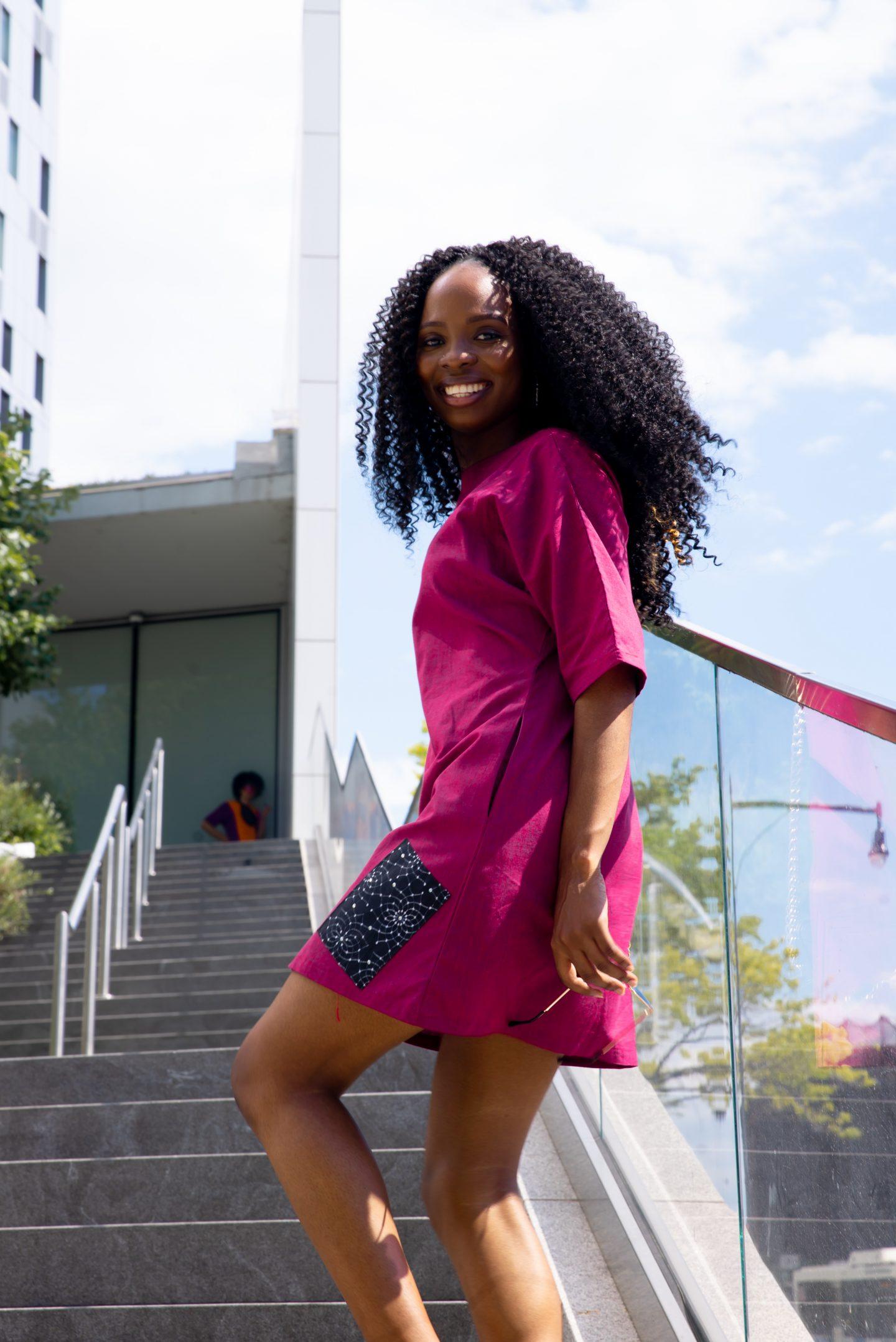 Linen Shift Dress For Summer   Love Igho