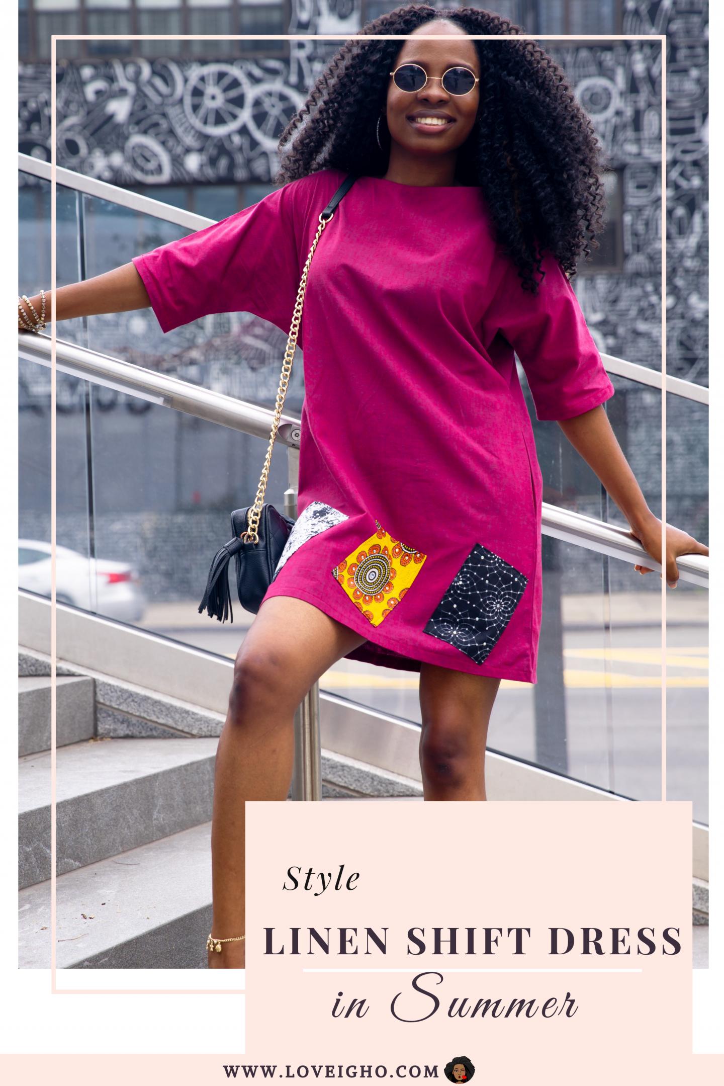 Linen Shift Dress For Summer   Pin   Love Igho