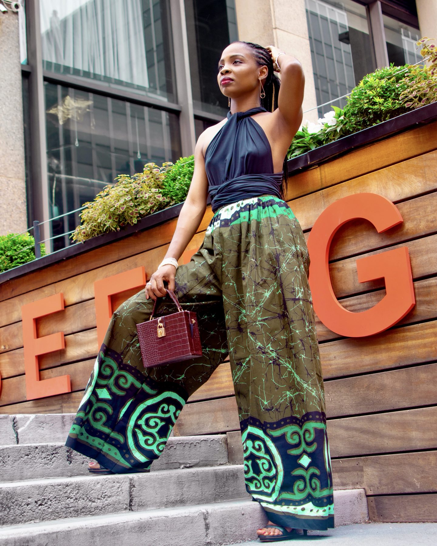 DIY Wide Leg Palazzo Pants | Love Igho