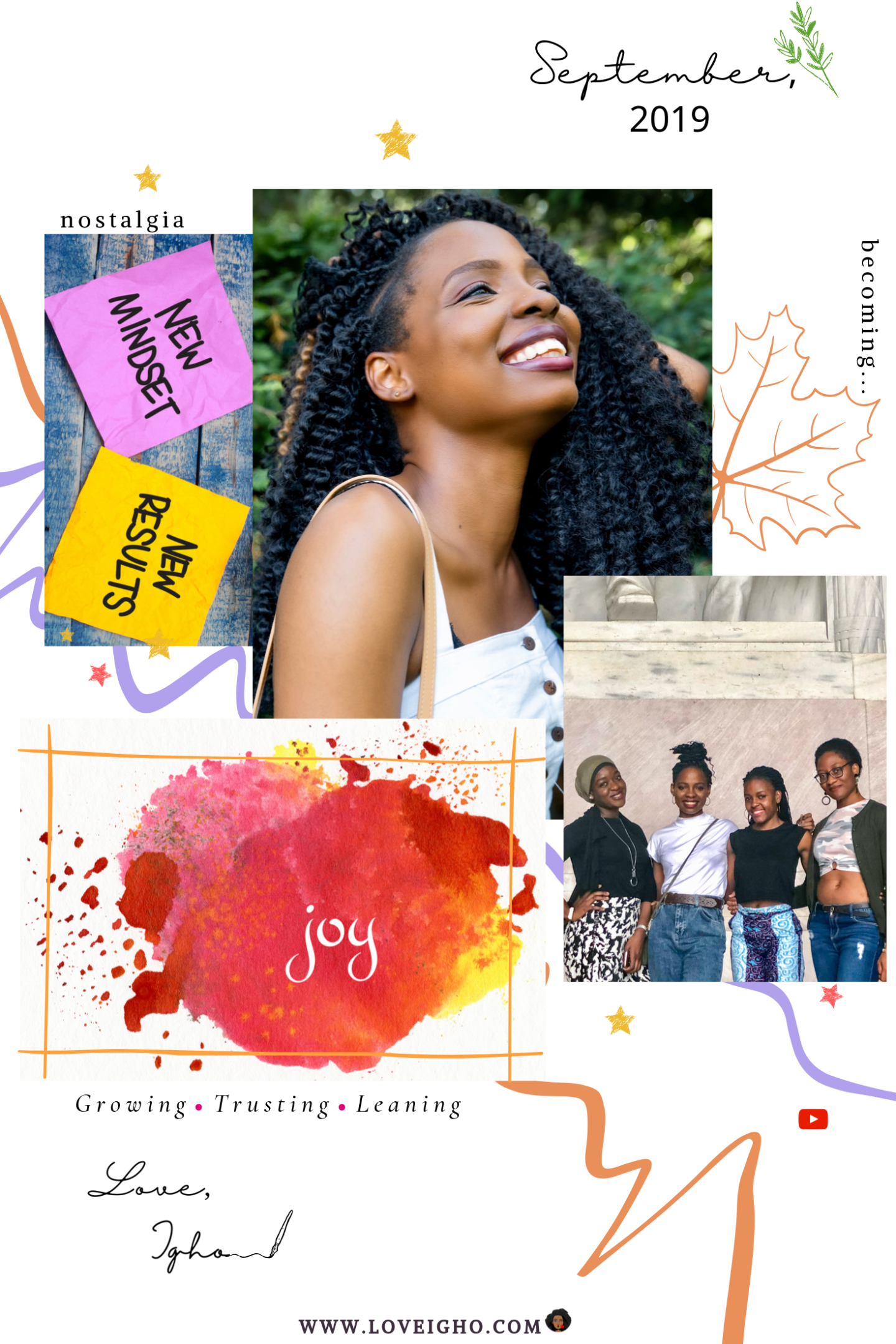 September 2019 Journal | Love Igho