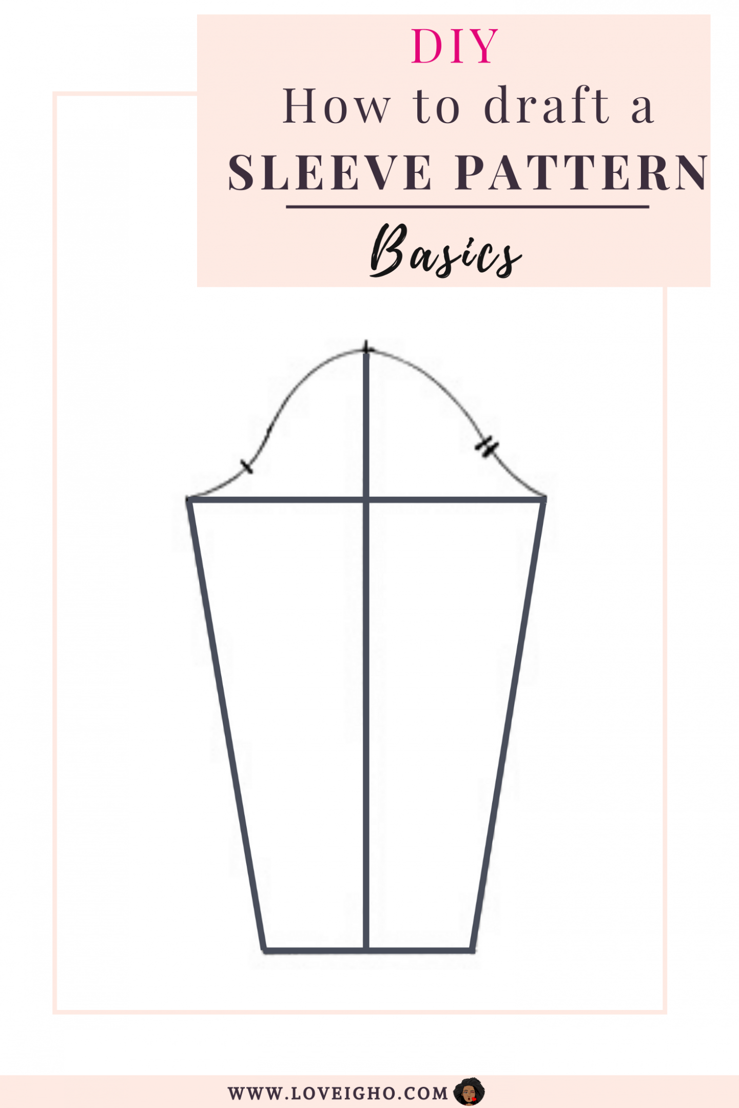 How to draft a basic Sleeve pattern | Love Igho