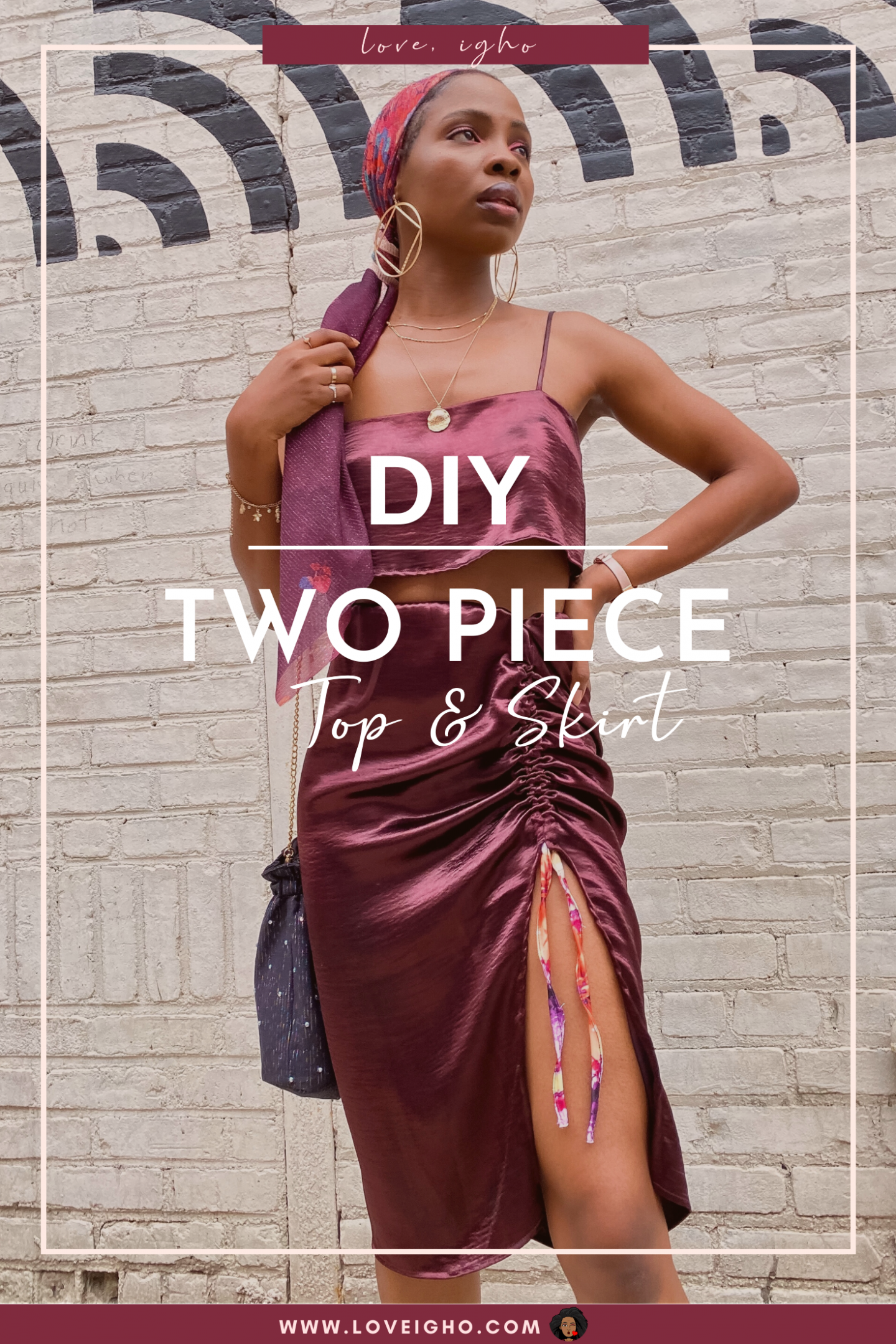 DIY Two Piece Outfit | Love Igho