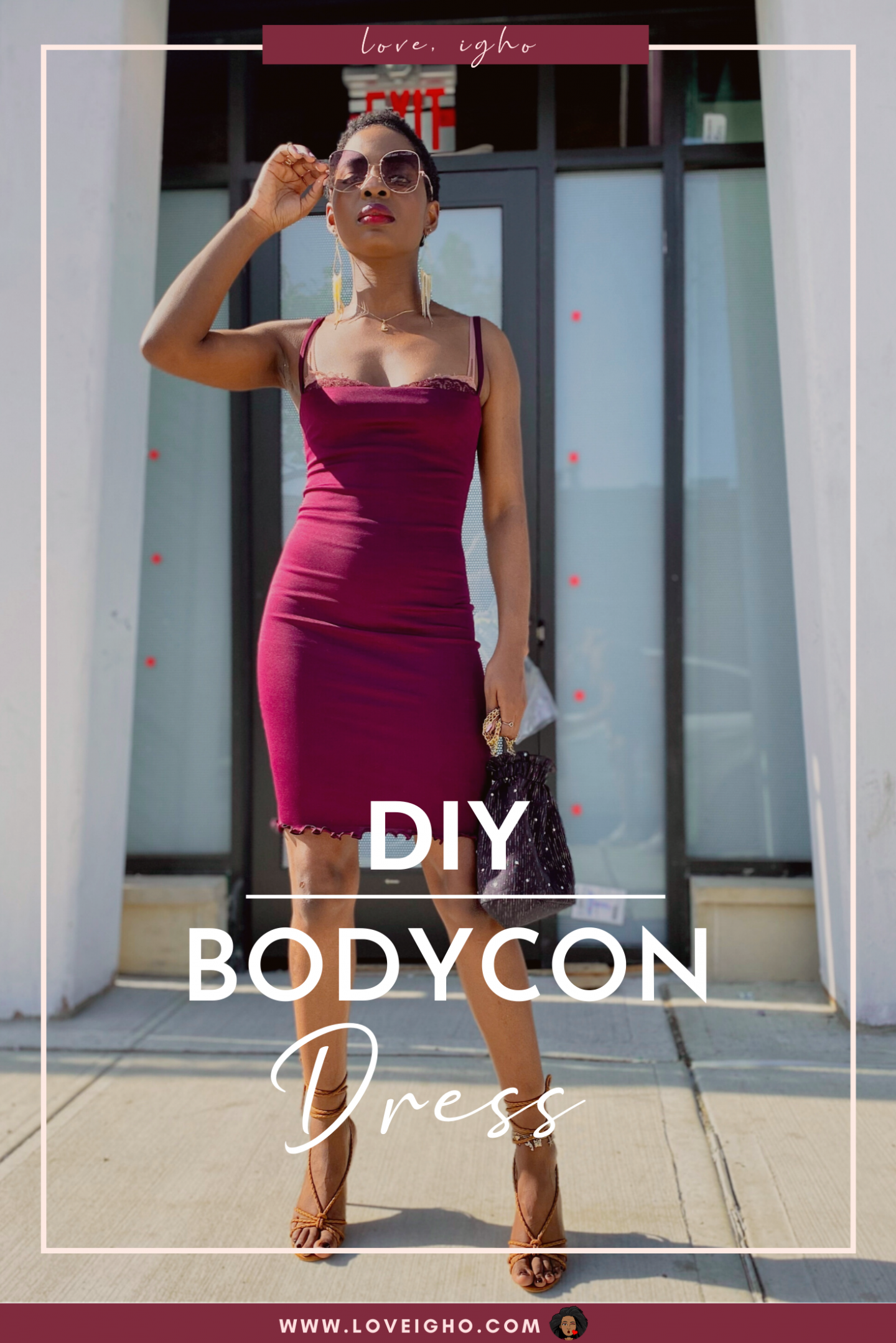 DIY Bodycon Dress | Love Igho