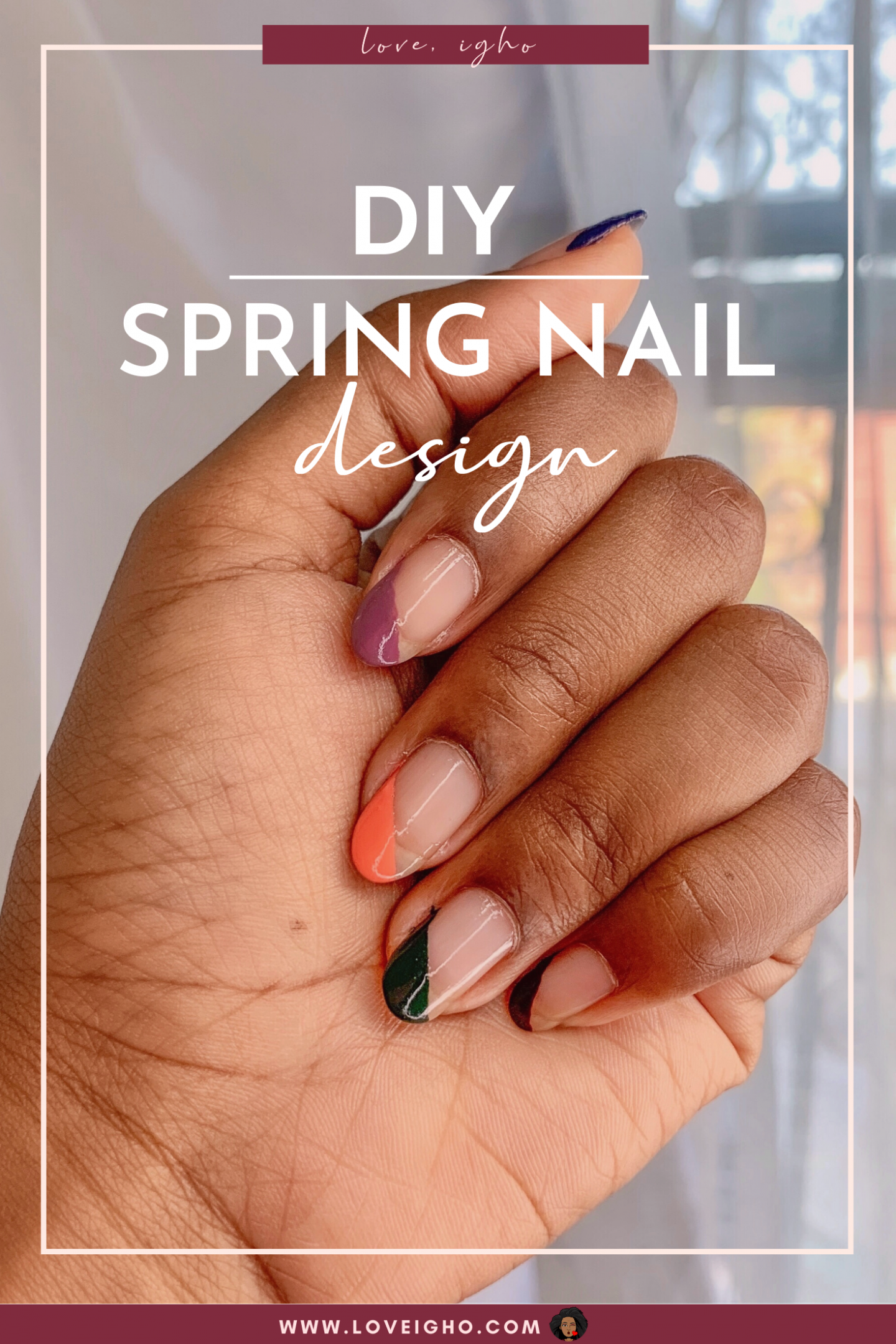 DIY Spring Nails | Love Igho