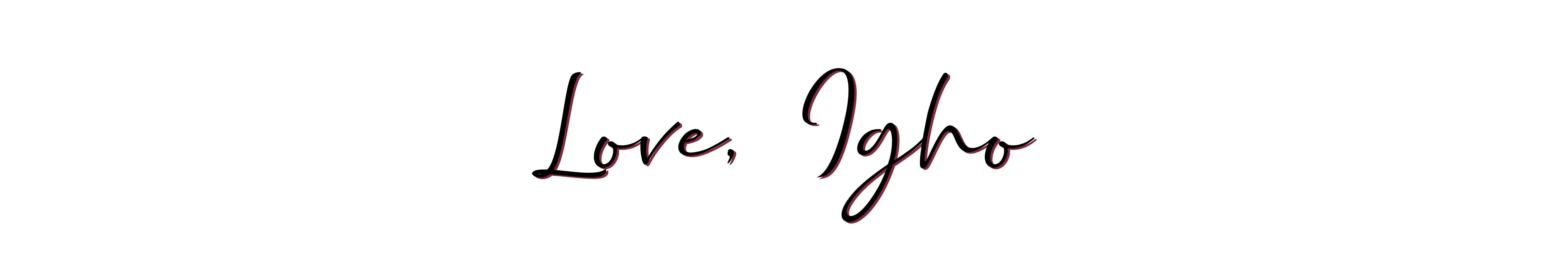 love, igho