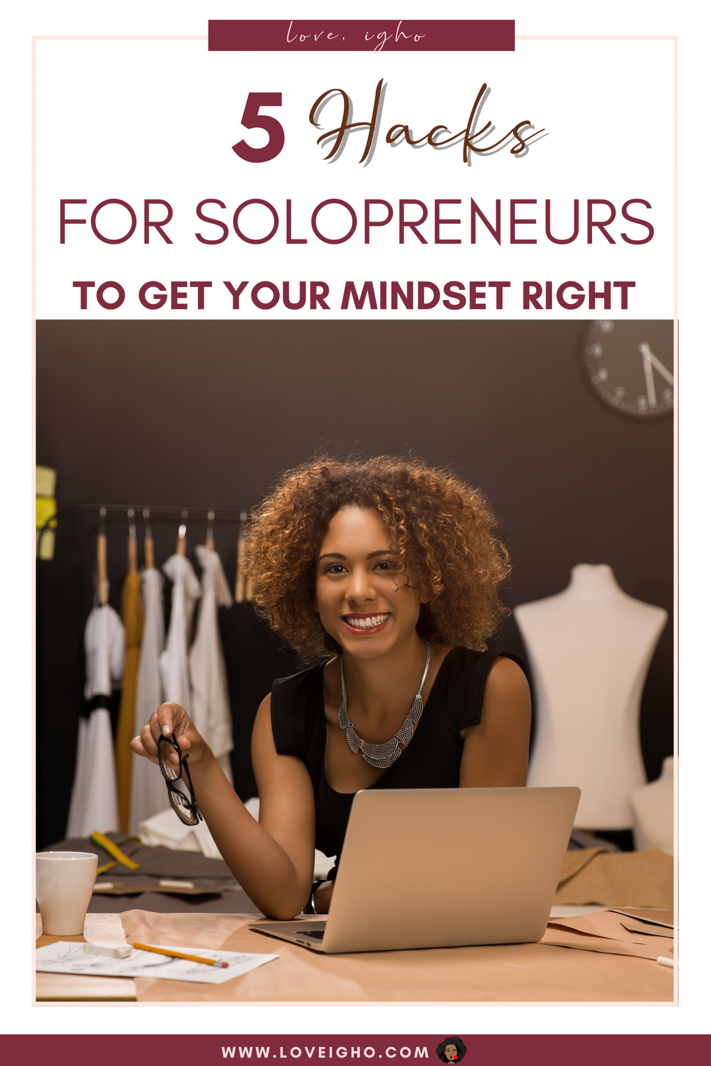 5 Quotes To Keep Your Mindset Right | Solopreneur Tips | Love Igho