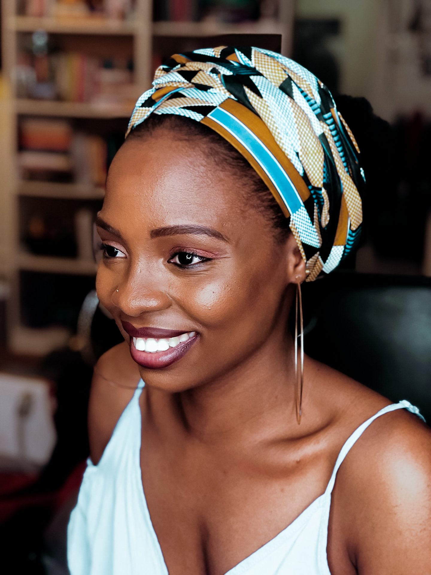 How to MAKE and STYLE a Headwrap | Love Igho
